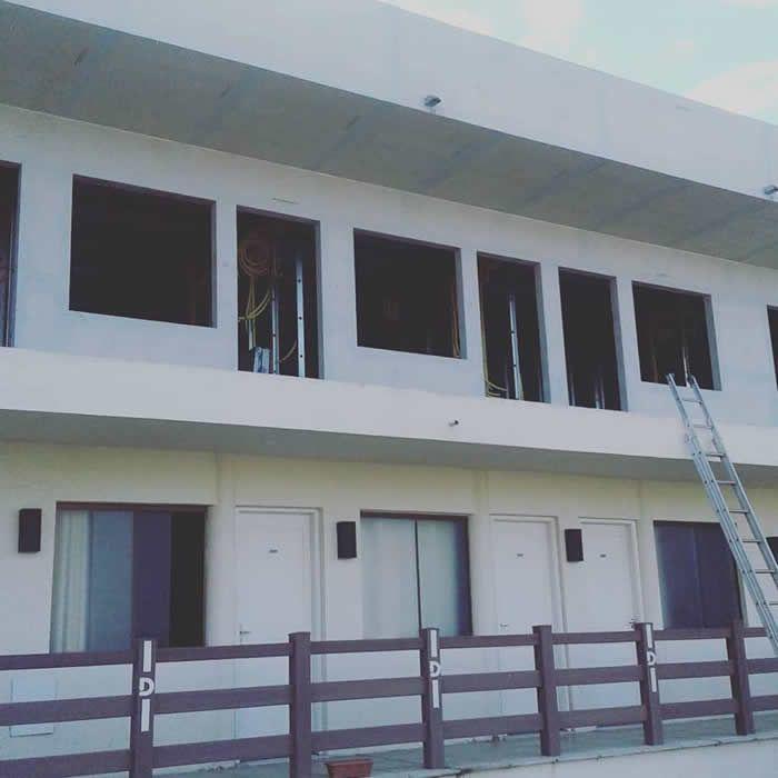 Dallé Hotel - Obra em andamento! 9 novos departamentos estão em construção no Dallé Hotel