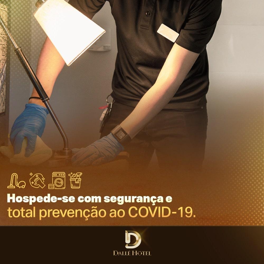 Dallé Hotel - Hospede-se com segurança total no Dallé Hotel