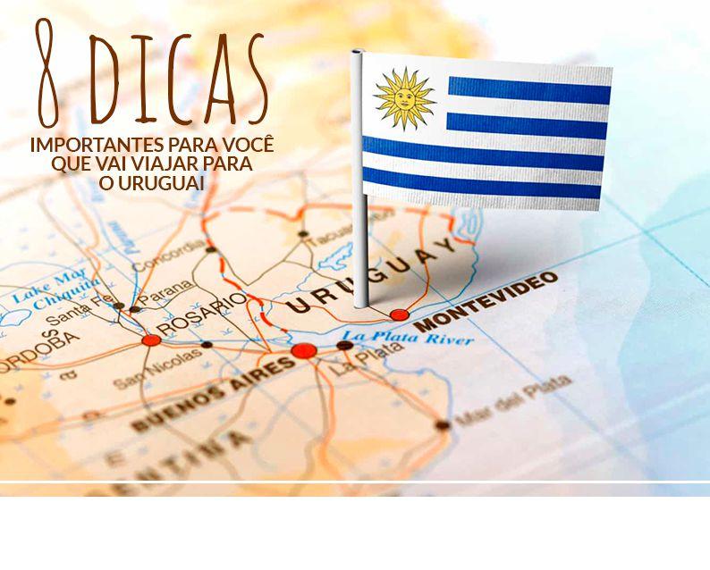 Dallé Hotel - 8 dicas para você se dar bem durante viagem para o Uruguai